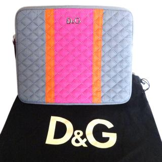 D&G Quilted Clutch Bag