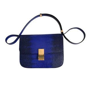 Celine Lizard Box Bag Flap