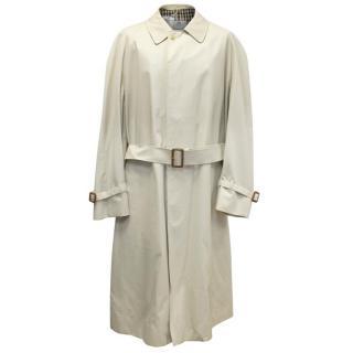 Aquascutum Men's Beige Trench Coat