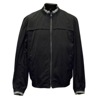 Hugo Boss Men's Black Bomber Jacket