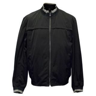 Hugo Boss Men's Black Bomber Jacket