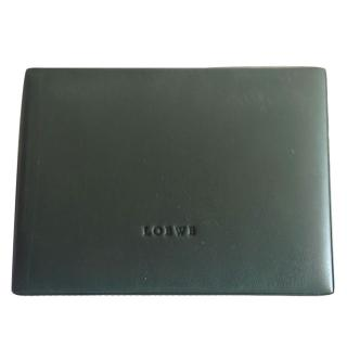 Loewe Playing Cards in Green Leather Case