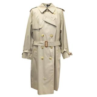 Burberry Mens Rochdale Beige Trench Coat