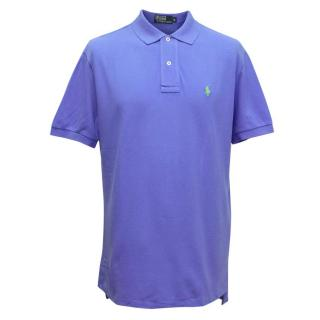 Polo by Ralph Lauren Mens Blue Polo T-shirt