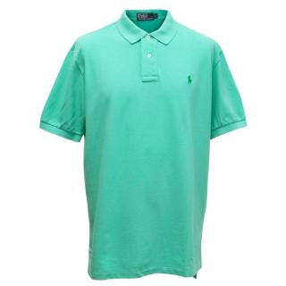 Polo by Ralph Lauren Mens Mint Green Polo T-shirt