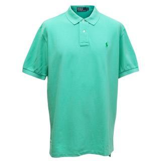 Polo by Ralph Lauren Mens Mint Green Polo T-shirt