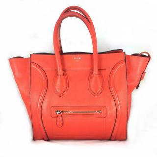 Celine Luggage Orange