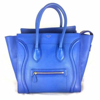 Celine Luggage Blue