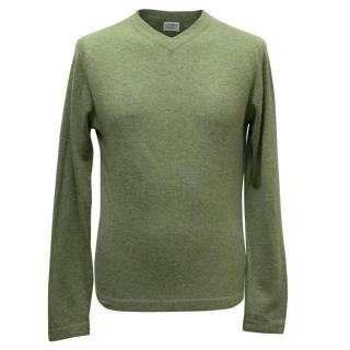 Clement's Ribeiro Men's Green Jumper