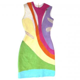 Preen by Thornton Bregazzi Rainbow Dress