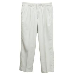 Dockers Golf Cream Pleat Trousers Relaxed Fit