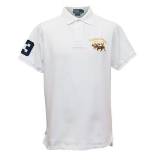 Polo by Ralph Lauren Mens White Polo T-shirt
