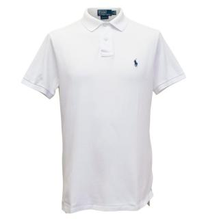 Polo by Ralph Lauren Mens White Polo T-shirt