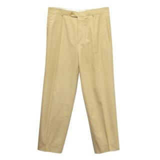 Boss by Hugo Boss Beige Trousers