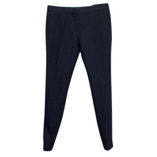 Burberry Women's Navy Skinny Prorsum Trousers