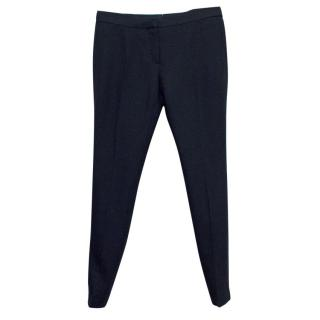 Burberry Women's Navy Skinny Prorsum Trousers