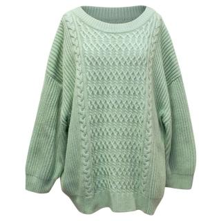By Malene Birger Knit Green Jumper