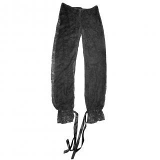 Haider Ackermann Lace trousers