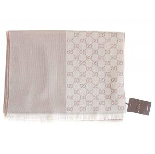 Gucci Monogram Reversible Scarf