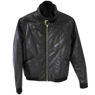 Mark Jacobs Quilted Leather BikerJacket