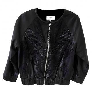 IRO leather bomber jacket