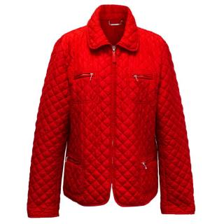 Hobbs Red Quilted Jacket
