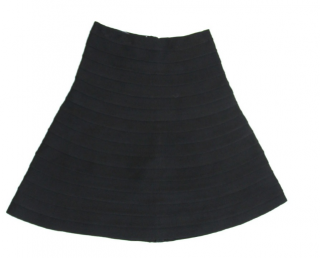 Herve Leger Bandage Flare A Line Skirt