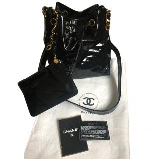 Chanel Drawstring/Bucket bag with coin purse