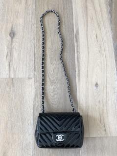 Chanel black classic handbag