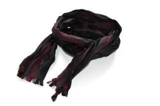 Bottega Veneta runway silk slim scarf