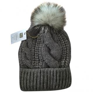 Russian Fur Company Fox Fur Pom Pom hat