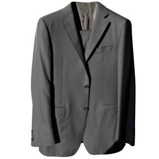 Canali Navy S150 Wool Suit sz50/L