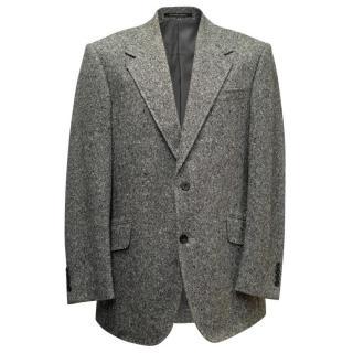 Richard James Black & White Cashmere Blazer