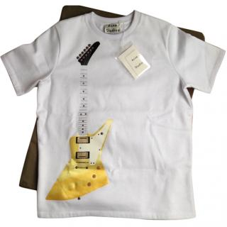 Acne Studios Eris Guitar Short Sleeve Sweat Top