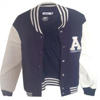 Adidas Originals Baseball Jacket Wool Coat Leather Varsity College
