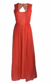 Carven Orange Maxi Dress