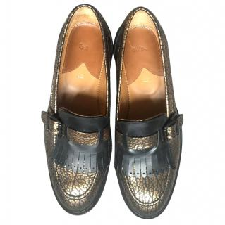 Paul Smith Gold Shoes