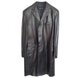 Gucci Leather Coat
