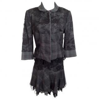 Gaetano Navarra 2 Piece Skirt Suit