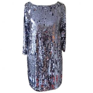 Maje Sequin Party Dress