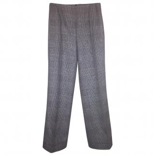 Georges Rech Silver and black tweed trousers (suit)