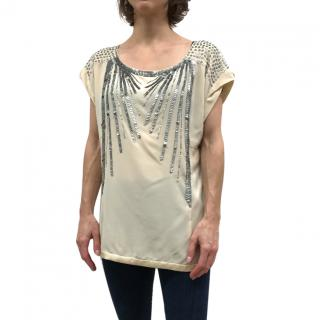Nanette Lepore sequined top