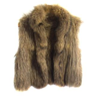 Yves Salomon Natural Fur Gilet