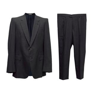 Bottega Veneta Mens Charcoal Grey Two Piece Suit