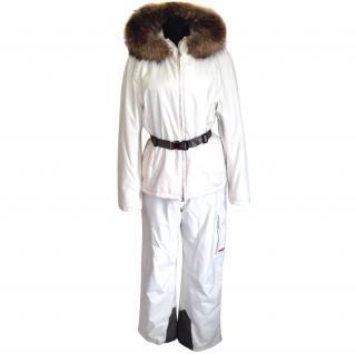 Prada ski hooded jacket and trousers