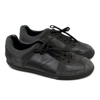 Louis Vuitton Black & Grey Trainers