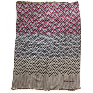 Louis Vuitton Wool Plaid Scarf