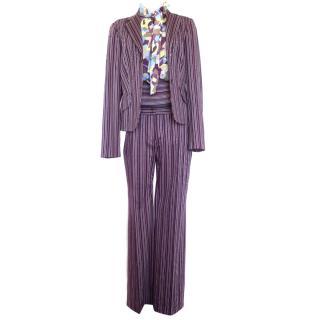 M Missoni Three Piece Suit