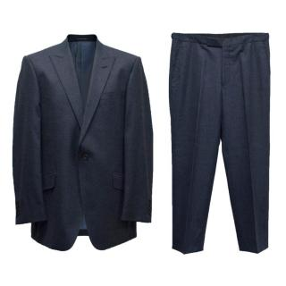 Richard James Savile Row Men's Navy Suit