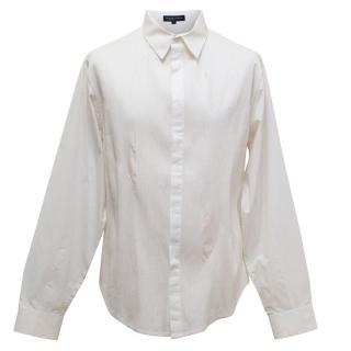 Rajesh Pratap Singh Men's White Shirt